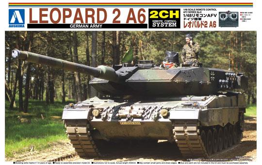 Leopard 2 A6 Radio Control