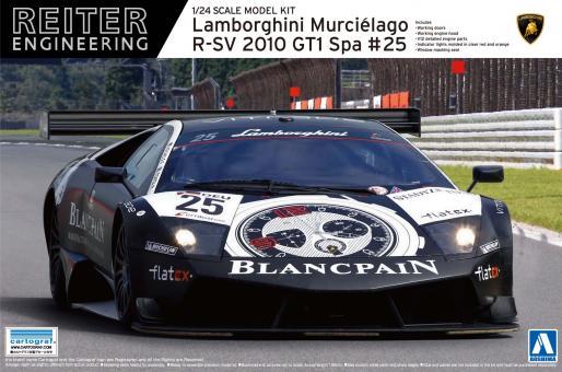 Lamborghini Murcielago R-SV 2010 GT1 Spa #25 (overseas edition)