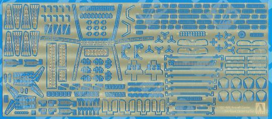 HMS Ark Royal 1941 photo etched parts set