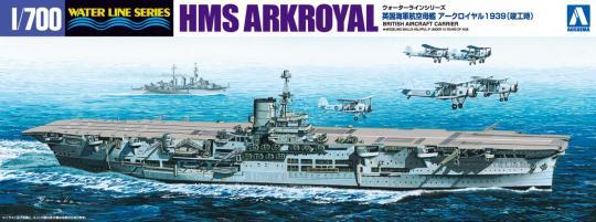 HMS Ark Royal 1939