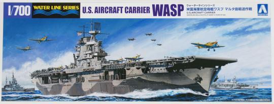 """USS Wasp Aircraft Carrier """"Operation Pedestal"""""""