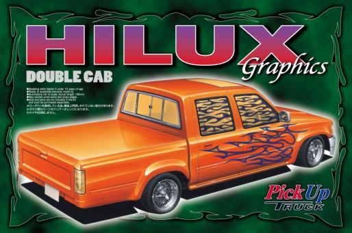 Hilux W-Cab Graphics (Toyota)