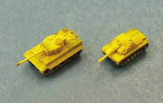 German Army Tanks Set A