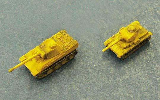 German Army Tanks Set B