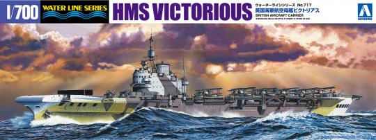 HMS Victorious aircraft carrier (New Tooling)