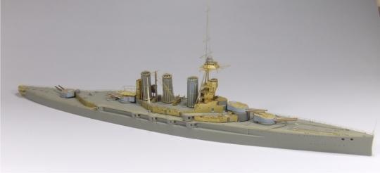 HMS Tiger in WWI (1914-18)