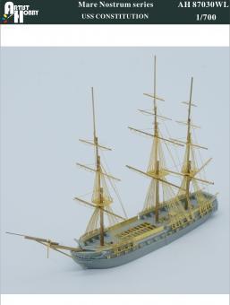 Fregatte USS Constitution (Wasserlinie)