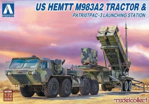 US Hemtt M983A2 Tractor & PatriotPAC-3 Launching Station