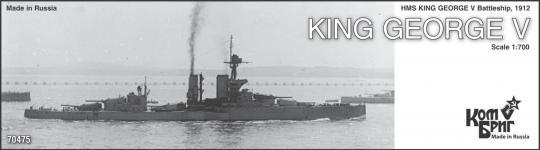 HMS King George V, Battleship 1912