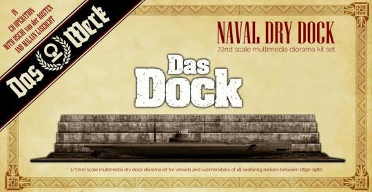 Das Dock - Naval Dry Dock 1/72