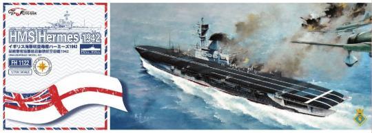 HMS Hermes Aircraft Carrier 1942