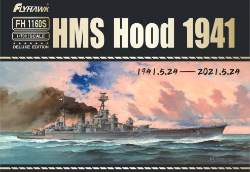 HMS Hood 1941 (full hull option) DeLuxe Edition
