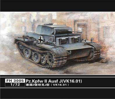 German Pz. Kpfw. II Ausf. J (VK.16.01)