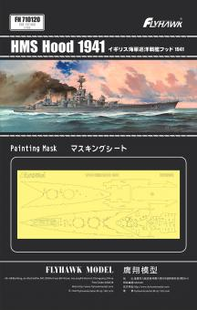 HMS Hood 1941 painting mask (for FH1160)
