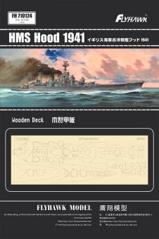 HMS Hood 1941 wooden deck (for FH1160)