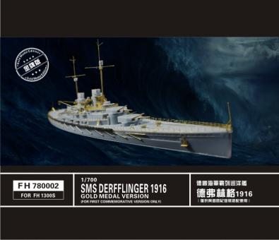SMS Derfflinger WWI Gold Medal Edition