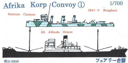 Afrika Korp Convoy 1 (09-1941 Benghazi)