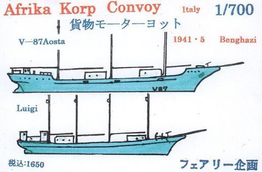 Afrika Korp Convoy Italy (05-1941 Benghazi)