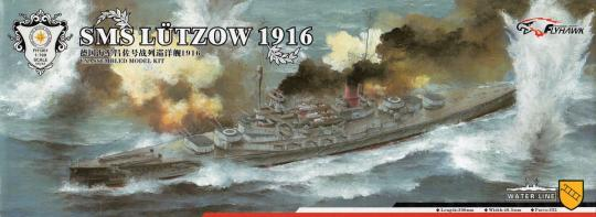 SMS Lützow 1916