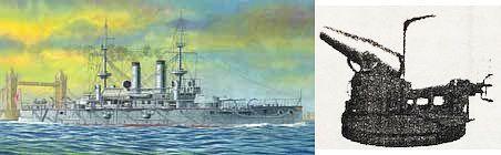 IJN Battleship Yashima limited reproduction