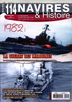 1982: La Guerre des Malouines II - 22. Avril au 12 Mai