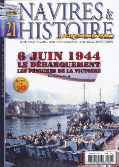 6 Juin 1944 Le débarquement les péniches de la victoire