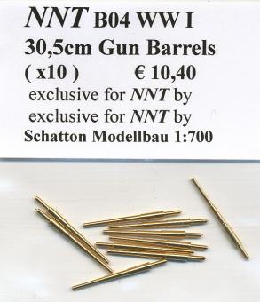 30,5cm Barrels WWI (x10)