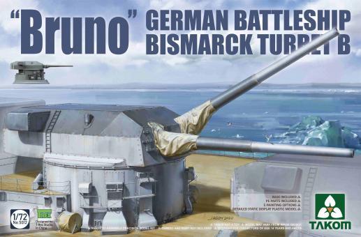 Bruno German Battleship Bismarck Turret B