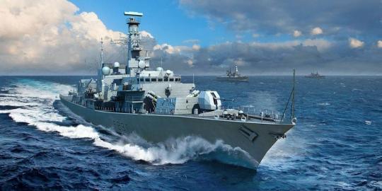 HMS Westminster F237 Frigate Type 23