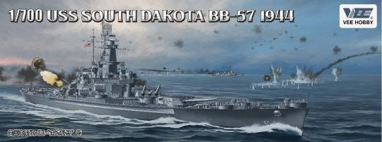 USS South Dakota BB-57 1944