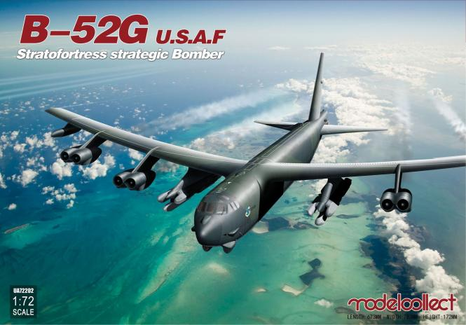 USAF B-52G Stratofortress Strategic Bomber