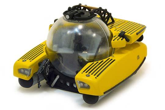 Deep Sea Explorer Submarine Triton 1/48