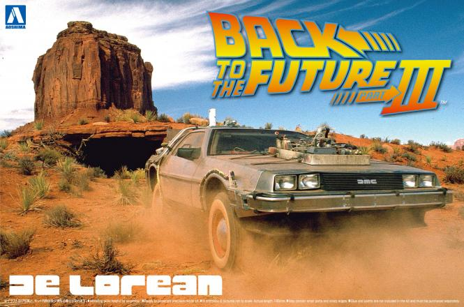 De Lorean from BACK to the FUTURE III