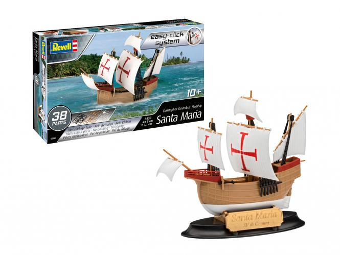 Santa Maria Christopher Columbus' Flagship - Model set