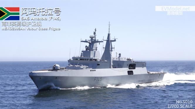 SAS Amatola (F145) MEKO A-200SAN Valour Class Frigate