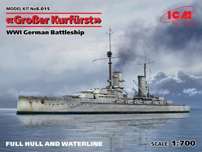 SMS Grosser Kurfürst German Battleship WWI