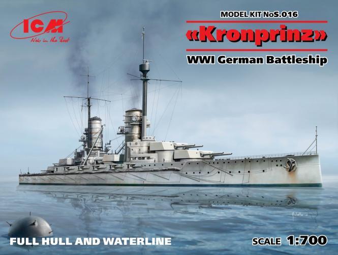 SMS Kronprinz German Battleship WWI