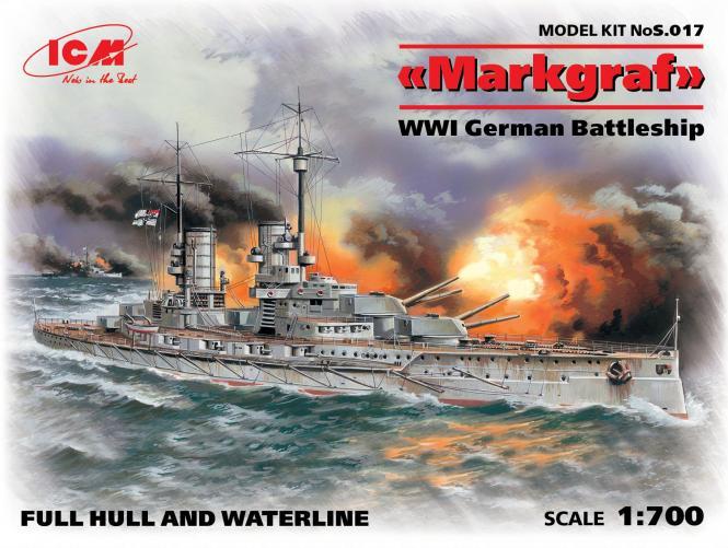 SMS Markgraf German Battleship WWI