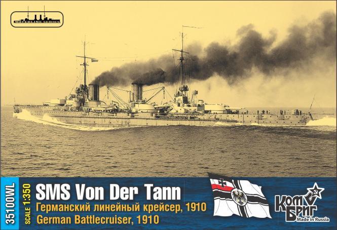 SMS Von der Tann German Battlecruiser 1910 -WL-