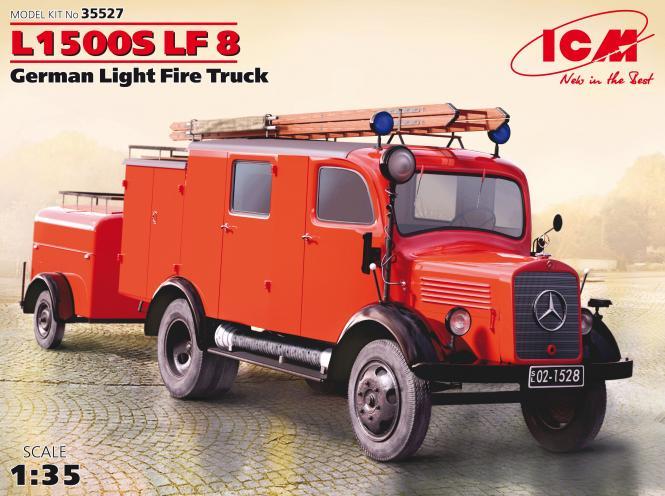 German Light Fire Truck L1500S LF 8