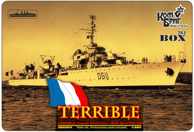 Le Terrible French Destroyer 1936