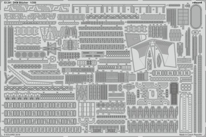 DKM Blücher 1/350 (for Trumpeter)