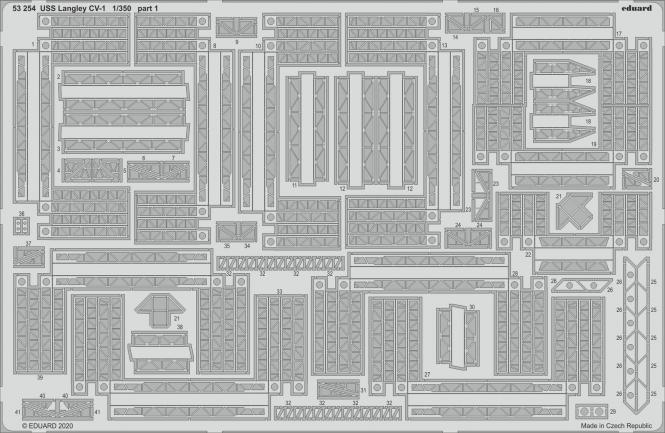 USS Langley CV-1 1/350 (for Trumpeter)