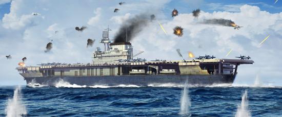 USS Yorktown CV-5 Aircraft Carrier