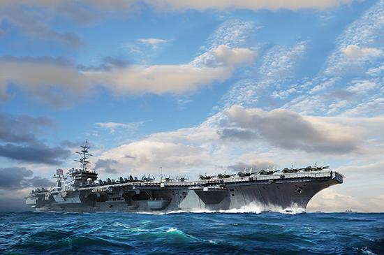 USS Constellation CV-64 USN Aircraft Carrier