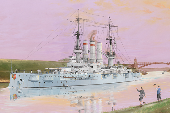 Schleswig-Holstein Battleship 1908