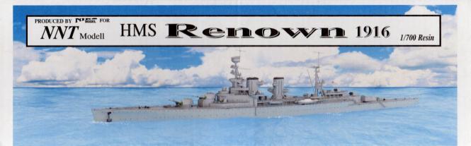 Renown HMS 1916