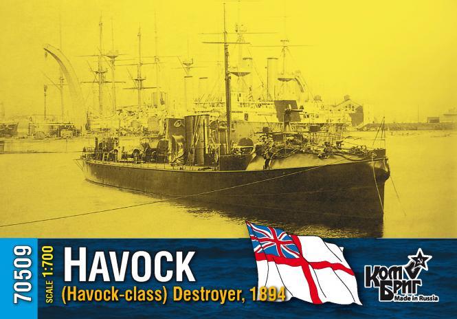 HMS Havock, (Havock-class) Destroyer 1894
