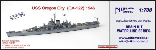 Oregon City USS (CA-122) 1946