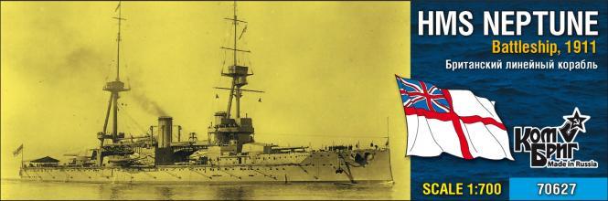 HMS Neptune, Battleship 1911
